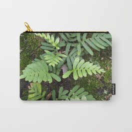 Moss and Fern Carry-All Pouch