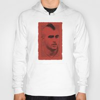 juventus Hoodies featuring World Cup Edition - Arturo Vidal / Chile by Milan Vuckovic