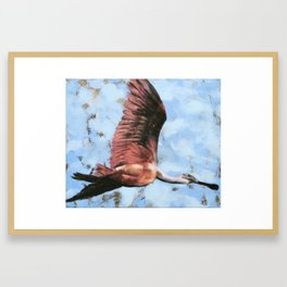 Roseate Spoonbill 2014 Framed Art Print