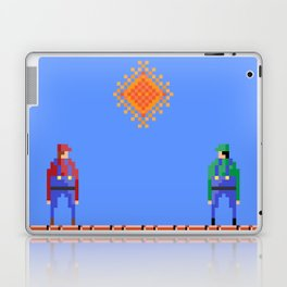 Mario vs Luigi Laptop & iPad Skin