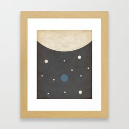 Dwarf- Space is Hot Framed Art Print