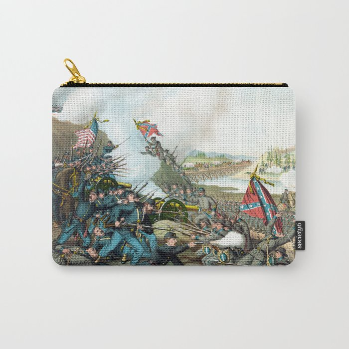 Battle Of Franklin -- Civil War Carry-All Pouch