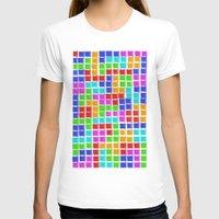 tetris T-shirts featuring Tetris by MarioGuti