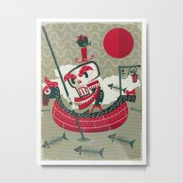 Calaverita Metal Print