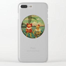 Tondo Clear iPhone Case