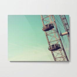 London Eye II Metal Print