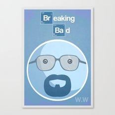 Breaking Bad Blue Sky Version Canvas Print