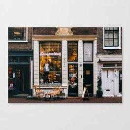 Centrum - Amsterdam, The Netherlands - #2 Canvas Print