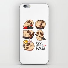 You Look Fab! -Puglie iPhone & iPod Skin