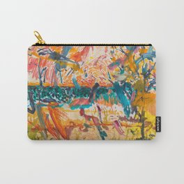 Sky, Lake and Dunes, Exuberant Carry-All Pouch