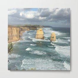 Australia Twelve Apostles Shoreline Metal Print