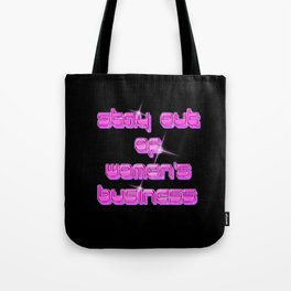 WOMEN'S BUSINESS Tote Bag