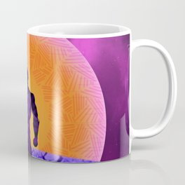 Black Panther Sunset Coffee Mug