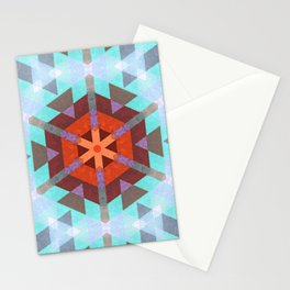 Geo Metrics 3 Stationery Cards