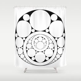 Inner circle Shower Curtain