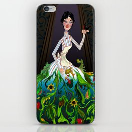 Scary Mary iPhone Skin