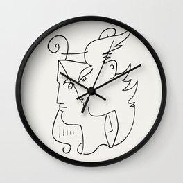 Poster-Jean Cocteau-Orpheus. Wall Clock