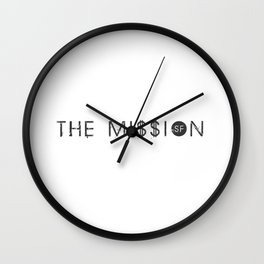 THE MI$$ION, SF Wall Clock