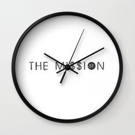 THE MI$$ION, SF Wall Clock