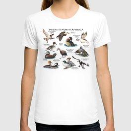 Ducks of North America T-shirt