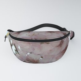 Almond Blossom pixelated Fanny Pack