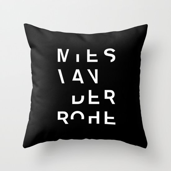MIES Throw Pillow