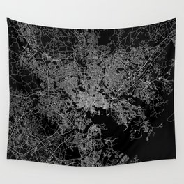 Baltimore map Maryland Wall Tapestry