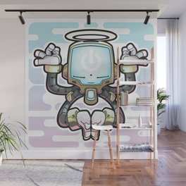 CONNECT_Bot022 Wall Mural