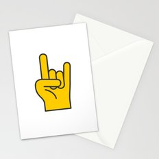 Hans Gesture - The Horns Stationery Cards