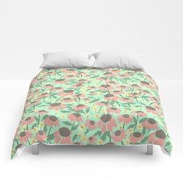 Echinacea and Coreopsis Comforters