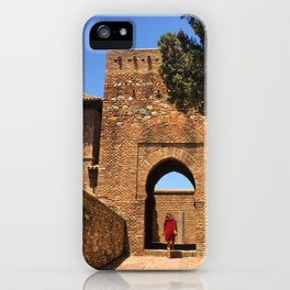 Alcazaba Gate : Malaga Andalucia iPhone Case