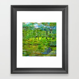 Landscape of My Heart (4 as 1) Framed Art Print