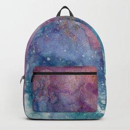 Celestial Ocean Abstract Backpack