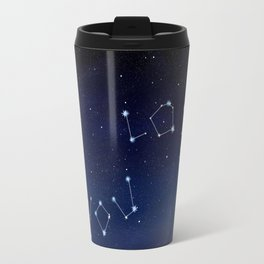 I love You Stars Design Travel Mug