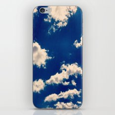 Blue and White iPhone & iPod Skin