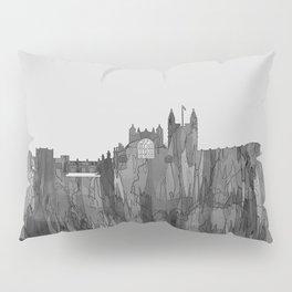 Bath, England Skyline - Navaho B&W Pillow Sham