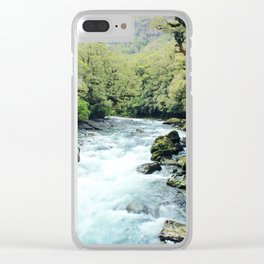 New Zealand river Clear iPhone Case
