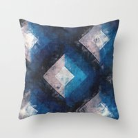 the xx Throw Pillows featuring XX by Diego Tirigall