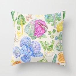 Winter Harvest - Neutral Throw Pillow