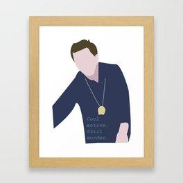 Cool Motive, Still Murder Framed Art Print