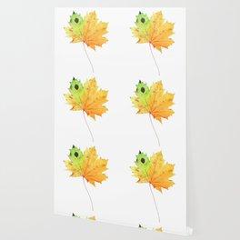 Large Maple Leaf Wallpaper