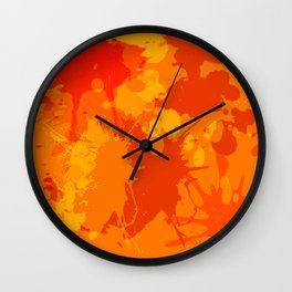 Accident in the Juice factory Wall Clock