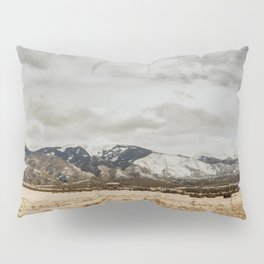 Great Sand Dunes National Park - Mountains II Pillow Sham