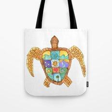 Sunny Sea Turtle Tote Bag
