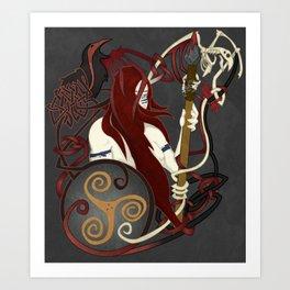 The Great Queen Art Print