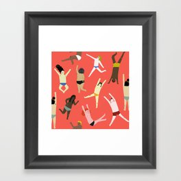 Dance! Dance! Dance! Framed Art Print
