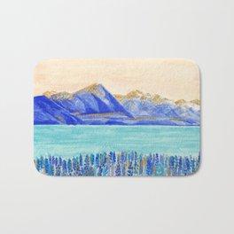 Lake Tekapo, New Zealand Bath Mat