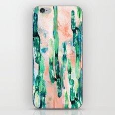 Sunset Cactus iPhone & iPod Skin