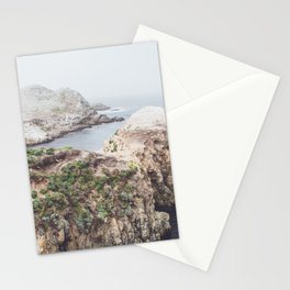 Ocean Salt Flats - California Landscape Photography Stationery Cards