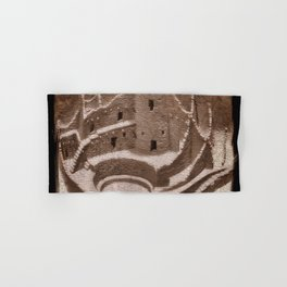 The Cliff Dwellers - Legends Of America Hand & Bath Towel